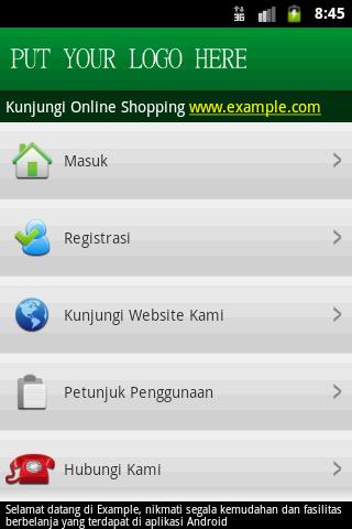 aplikasi jualan pulsa halaman utama