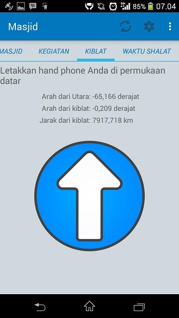Android Arah Kiblat